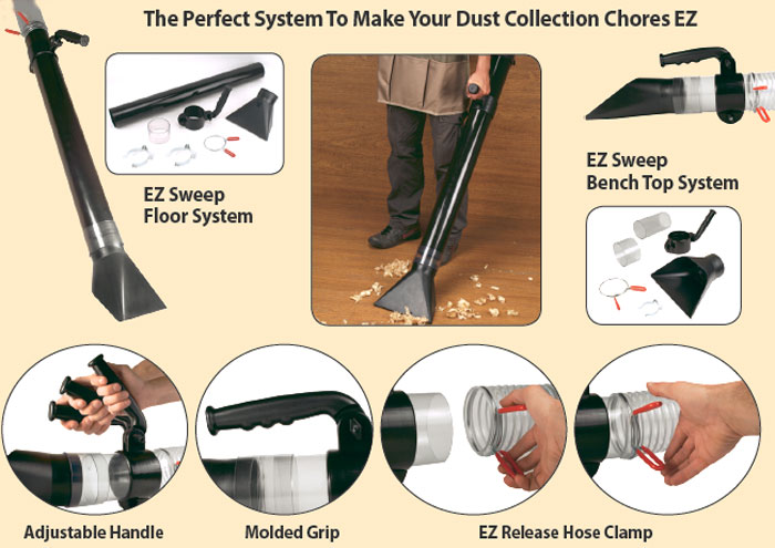 EZ Sweep Dust Collection System