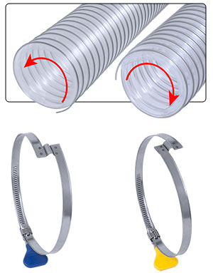 Step Over Hose Clamp